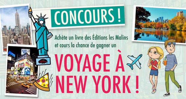 Gagnez un voyage pour 4 personnes à New York (Valeur de 4000 $)