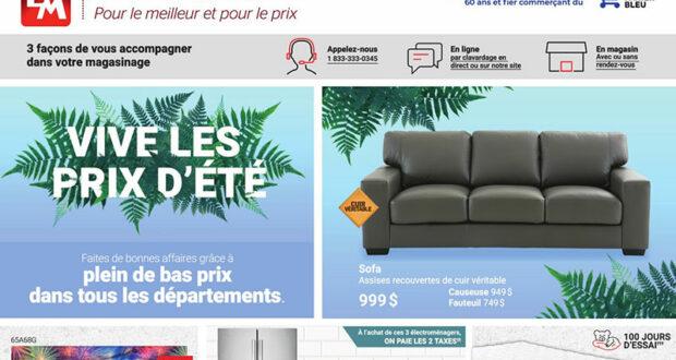 Circulaire Brault & Martineau du 28 juin au 4 août 2021