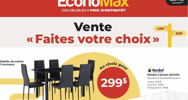 Circulaire EconoMax du 1 juillet au 28 juillet 2021