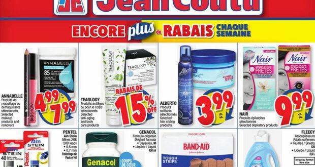 Circulaire Jean Coutu du 22 juillet au 28 juillet 2021
