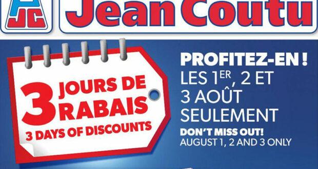 Circulaire Jean Coutu du 29 juillet au 4 août 2021