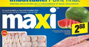 Circulaire Maxi du 8 juillet au 14 juillet 2021