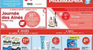 Circulaire Pharmaprix du 10 juillet au 15 juillet 2021