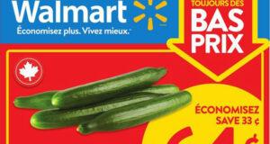 Circulaire Walmart du 15 juillet au 21 juillet 2021