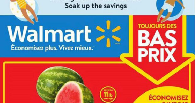 Circulaire Walmart du 29 juillet au 4 août 2021