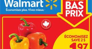 Circulaire Walmart du 8 juillet au 14 juillet 2021