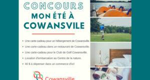 Gagnez 1 des 3 séjours pour 2 personnes à Cowansville