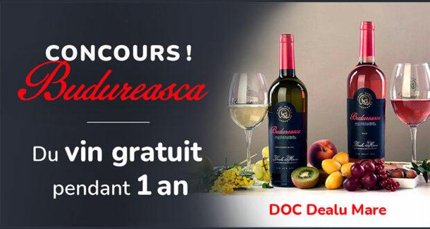 Gagnez du vin gratuit pendant un an (Valeur de 1000 $)
