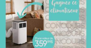 Gagnez un climatiseur Frigidaire portatif de 8 000 BTU