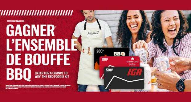 Gagnez un ensemble parfait de bouffe pour BBQ (Valeur de 940 $)