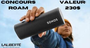 Gagnez un haut-parleur portable SONOS