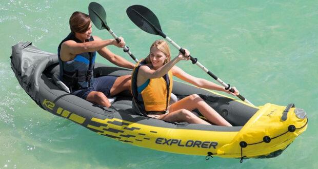 Gagnez un kayak Intex Explorer + une glacière IGLOO