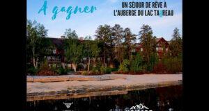 Gagnez un séjour pour deux à l'Auberge du Lac Taureau