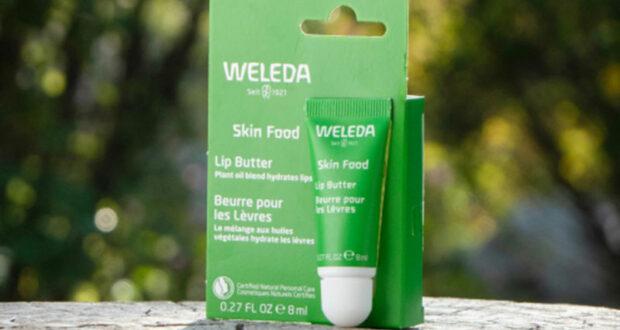 Testez le beurre pour les lèvres Skin Food de Weleda