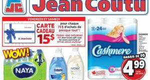 Circulaire Jean Coutu du 12 août au 18 août 2021