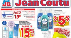 Circulaire Jean Coutu du 19 août au 25 août 2021