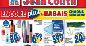 Circulaire Jean Coutu du 26 août au 1 septembre 2021