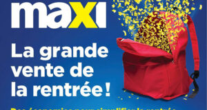 Circulaire Maxi du 19 août au 25 août 2021