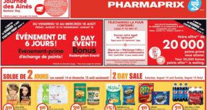Circulaire Pharmaprix du 14 août au 19 août 2021