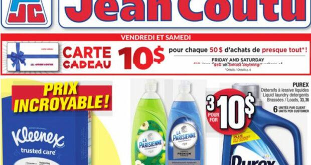 Circulaire Jean Coutu du 23 septembre au 29 septembre 2021