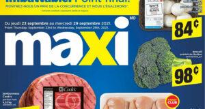 Circulaire Maxi du 23 septembre au 29 septembre 2021