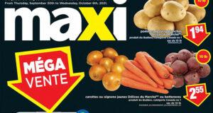 Circulaire Maxi du 30 septembre au 6 octobre 2021