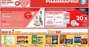 Circulaire Pharmaprix du 11 septembre au 16 septembre 2021