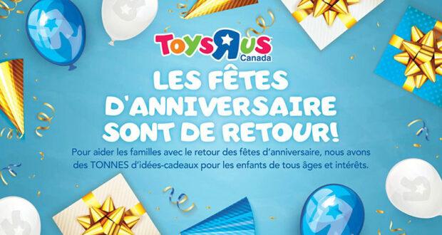 Circulaire Toys R Us du 9 septembre au 15 septembre 2021