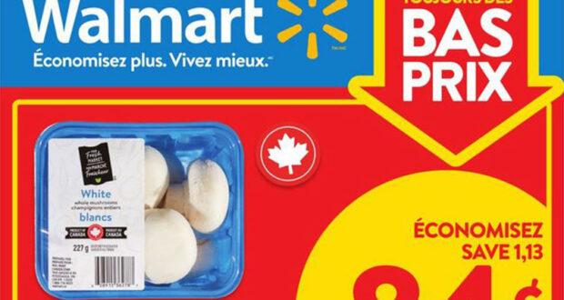 Circulaire Walmart du 16 septembre au 22 septembre 2021