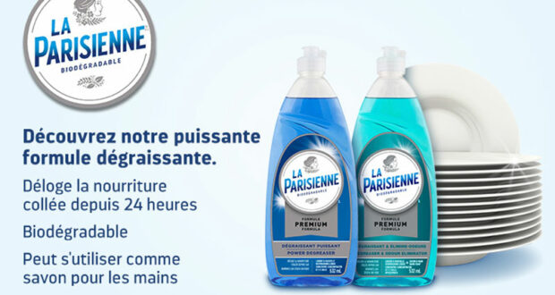Détergent à vaisselle La Parisienne Premium à 91¢