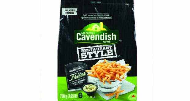 Frites congelées Cavendish à 49¢ au lieu de 2.49$