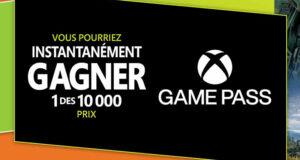 Gagnez 10 000 prix de Xbox Game Pass Ultimate