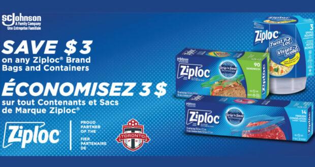 Obtenez gratuitement une boîte de 40 sacs à sandiwch Ziploc