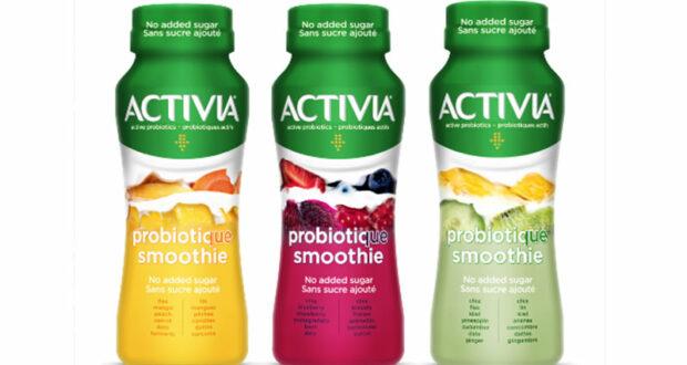 Yogourt à boire Smoothie Activia à 33¢ au lieu de 1.99$