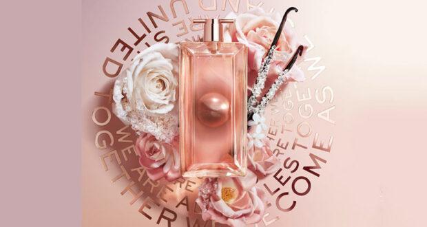 Échantillons gratuits du parfum Idôle Aura de Lancôme