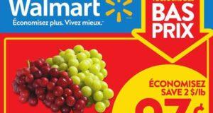 Circulaire Walmart du 14 octobre au 20 octobre 2021