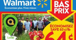Circulaire Walmart du 7 octobre au 13 octobre 2021