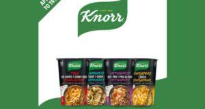 Essayez les nouilles de riz instantanées Knorr