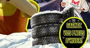Gagnez un set de pneus d'une valeur de 700 $
