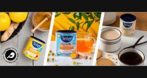 Testez gratuitement le thé Earl Grey Vanille de Tetley