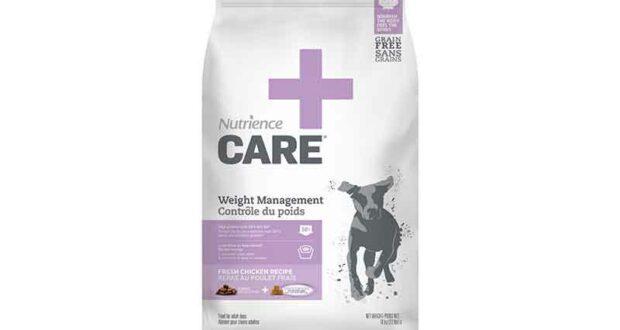 Échantillons gratuits de nourriture pour chien Nutrience Care